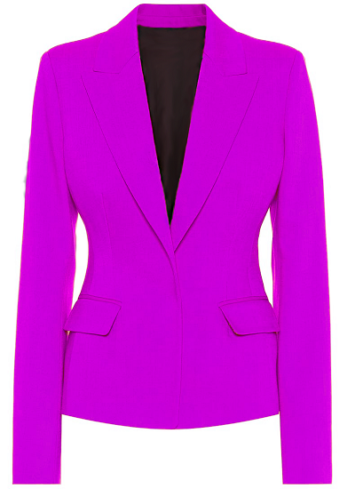 Alexa Basic Blazer- Lilac on maison aria