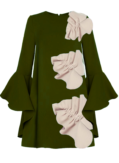 Holly Dress - Green  on maison aria