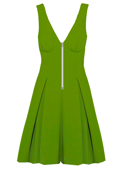 Pinacolada Dress- Green on maison aria