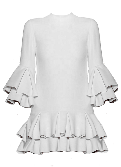 Mykanos Dress - White