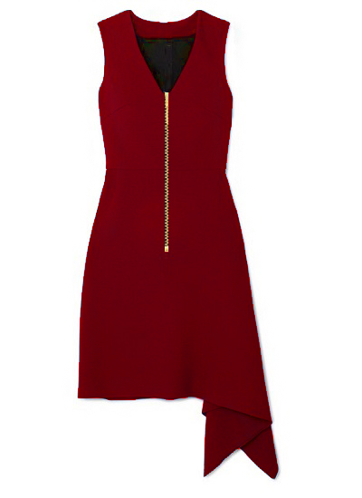 Shalewa Jet-Set Dress- Red