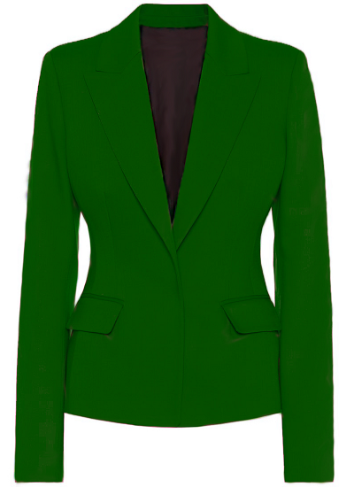 Alexa Basic Blazer- Green