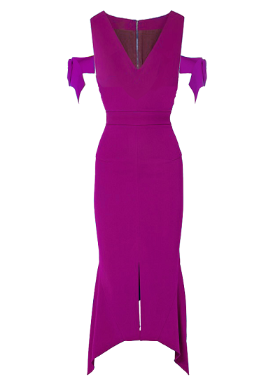 Alara Dress - Magenta on maison aria