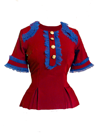 Martin Top - Red on maison aria