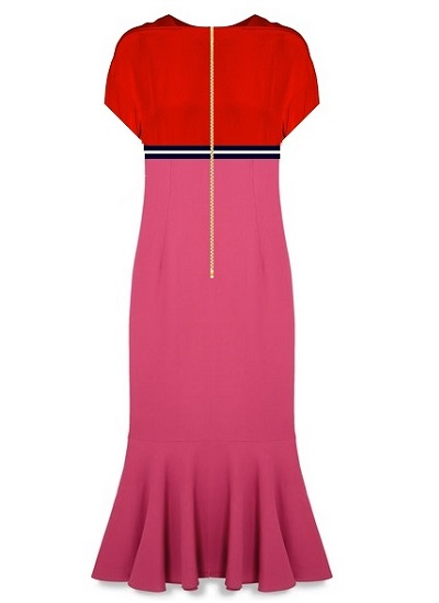 Martini Cocktail Dress- Pink