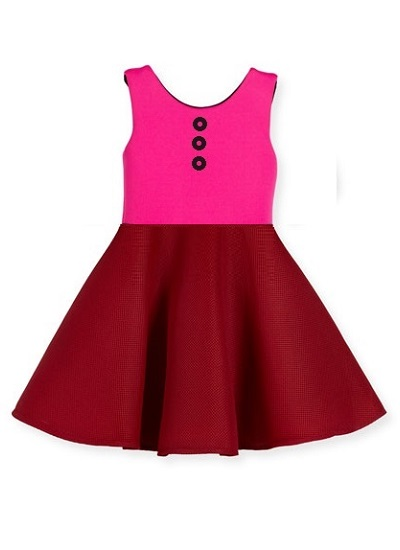 Popsicle Dress- Pink