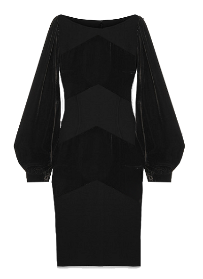 Venice Dress - Black on maison aria