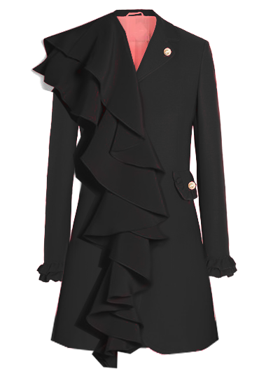 Printemps Blazer Dress - Black