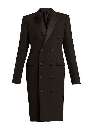 Vienna Blazer Dress- Black on maison aria