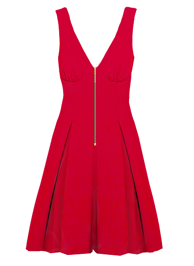 Pinacolada Dress- Red