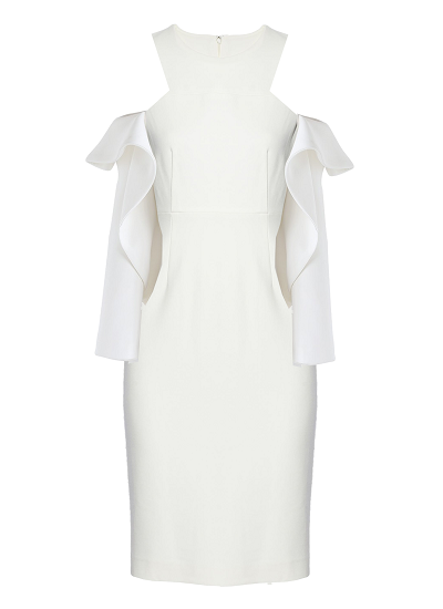 Madrid Dress - White  on maison aria