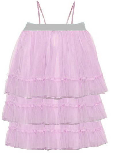 Bella Tulle Dress- Lilac