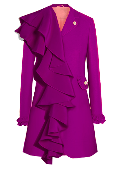 Printemps Blazer Dress - Magenta