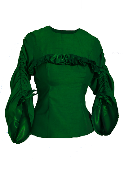 Riviera Top - Green on maison aria