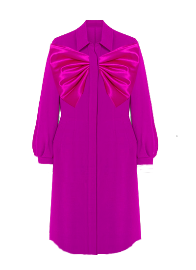 Summer Shirt Dress - Magenta on maison aria