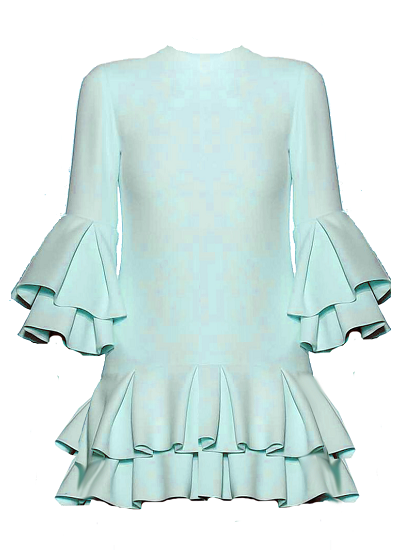 Mykanos Dress - Mint