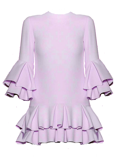 Mykanos Dress - Lilac on maison aria