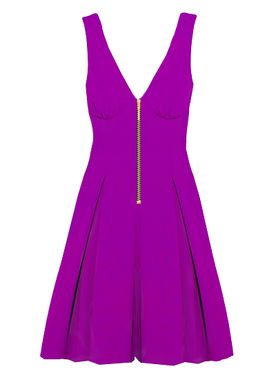 Pinacolada Dress- Magenta