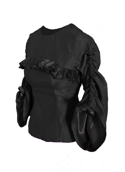 Riviera Top - Black  on maison aria