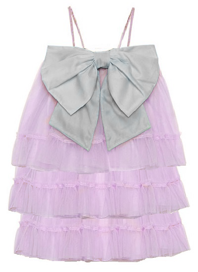 Bella Tulle Dress- Lilac on maison aria