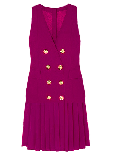 Sacramento Blazer Dress - Magenta on maison aria