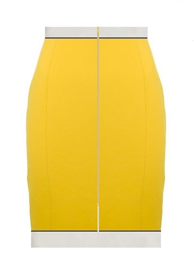 Valencia Resort Skirt- Yellow