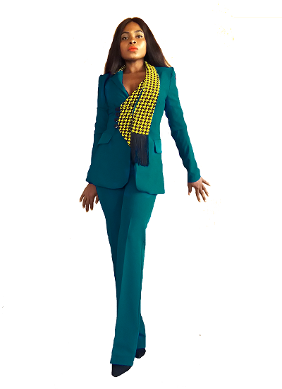 Alisha Suit Set - Teal