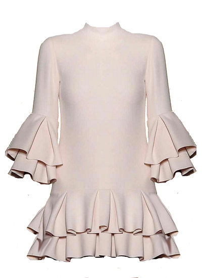 Mykanos Dress - Beige