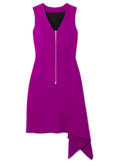 Shalewa Jet-Set Dress- Purple on maison aria