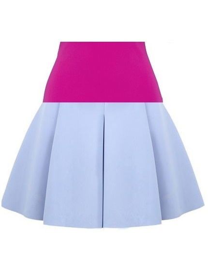 Cotton Candy Skirt- Pink on maison aria