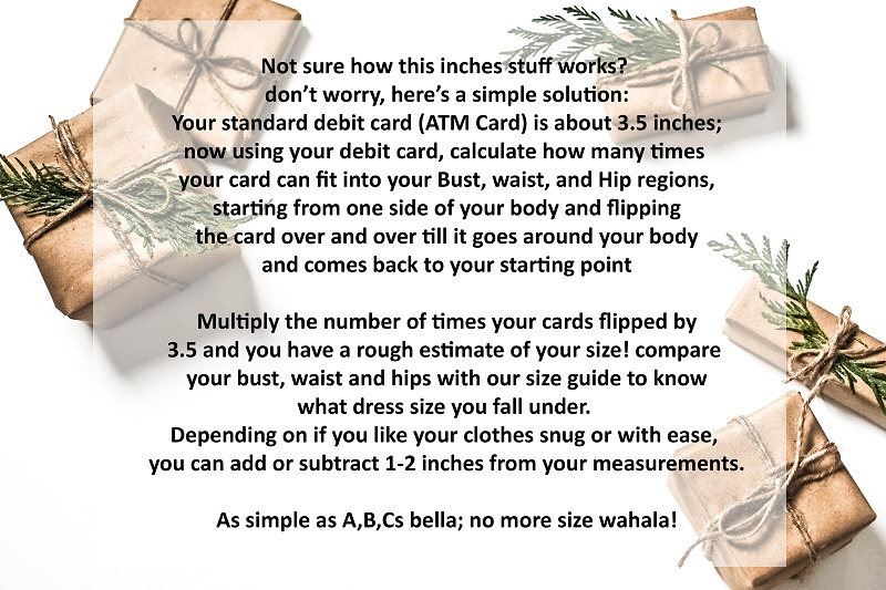 Maison Aria Measurement Guide